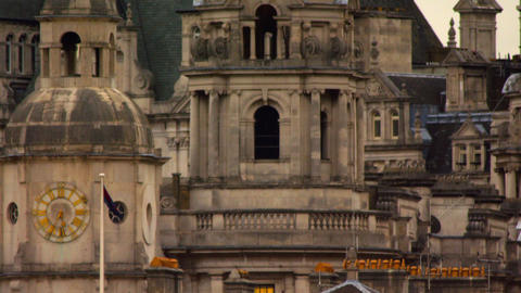 Stationary spire close-up from Saint James Park Footage