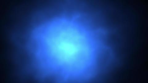 青いパーティクル CG動画素材
