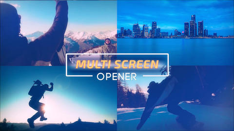 Multi Screen Opener After Effects Template