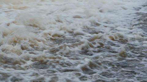 rolling flow water Footage