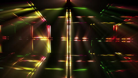 Colorful Lights Background Animation
