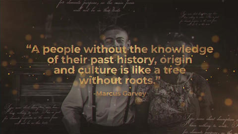 History Quotes After Effects Template