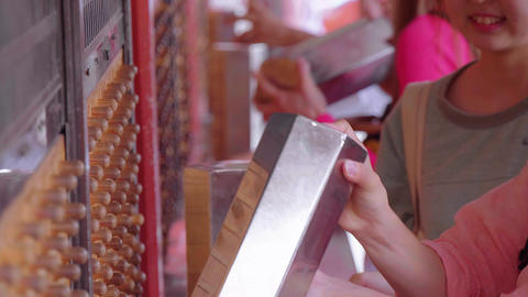 Omikuji - random fortune papers at a Buddhist temple or Shinto Shrine - TOKYO Live Action