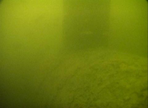 Sunk ship under water Footage