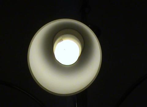 set of light bulbs Stock Video Footage