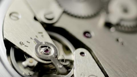 Watch mechanism turning Footage