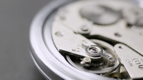 Open watch mechanism Footage
