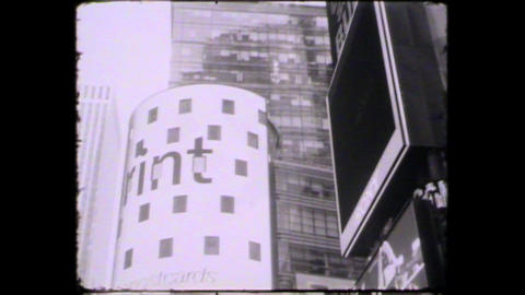 NY times square Stock Video Footage