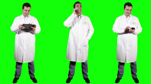 Young Doctor Good News Bundle Greenscreen 4 Footage