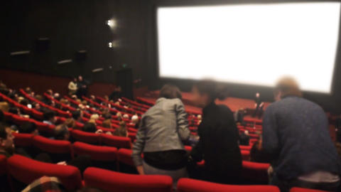Premiere of your movie 2 Stock Video Footage