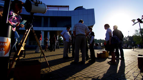 Transit of Venus 2012 4 4 K Stock Video Footage
