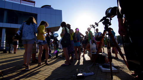 Transit of Venus 2012 4 4 K Footage
