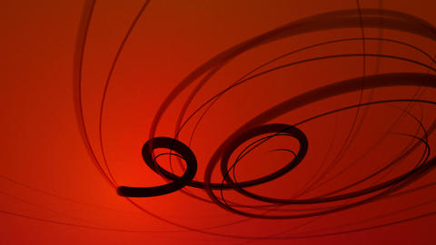 Swirlee - Abstract Swirling Lines Video Background Loop Animation