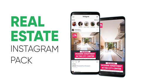 Real Estate - Instagram Pack After Effects Template