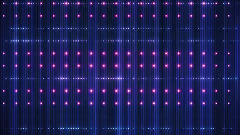 VJ Led Red and Blue background shine CG動画素材