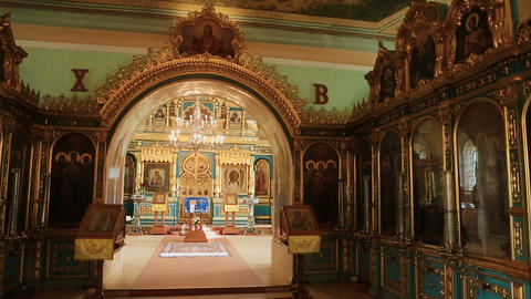 Church accessories inside the church Live Action