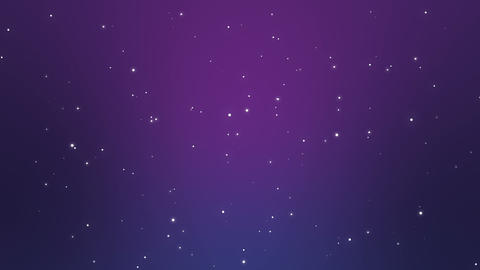 Magical starry night sky background Animation