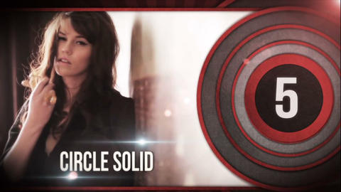 Circle Slide After Effects Template