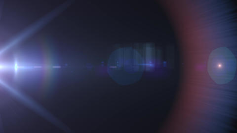 anamorphic lens flare 3840x2160 4K, lights background Live Action