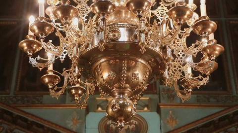 Church accessories inside the church, Live Action