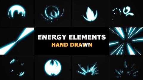 Energy Elements Apple Motionテンプレート