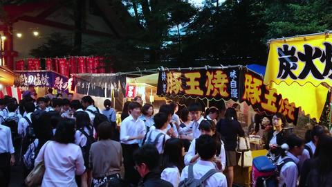 Big celebration - annual feast at Hie Shrine in Tokyo - TOKYO, JAPAN - JUNE 15 Footage