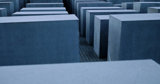 4K, Memorial to the Murdered Jews of Europe, Berlin Live Action