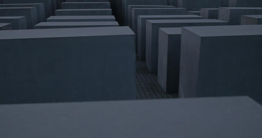 4K, Memorial to the Murdered Jews of Europe, Berlin Footage