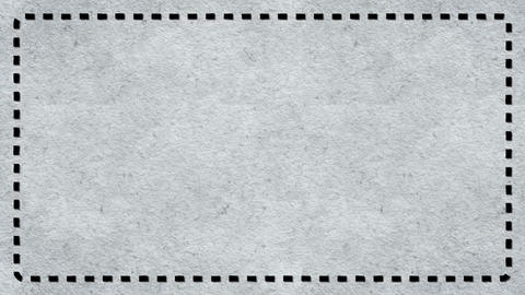 Frame Dashes Border Paper Texture Animated White Background CG動画素材
