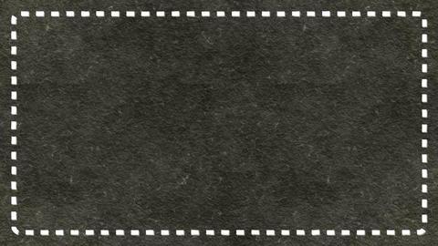 Frame Dashes Border Paper Texture Animated Dark Ashen Background Animation