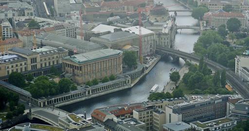 4K, View From Berlin TV Tower, National Gallery, Berlin Footage
