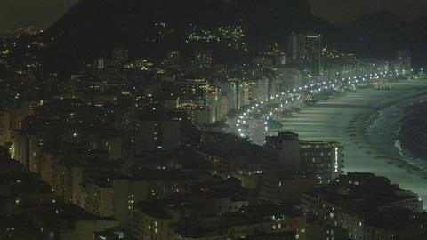 Rio de Janeiro cityscape pan in Brazil Footage