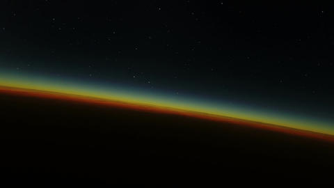 Sunrise on Planet Earth Animation