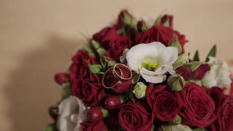 Bouquet of fresh roses. Festive bouquet of fresh flowers.…, Live Action