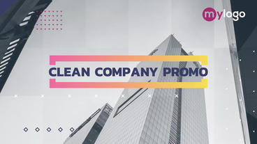 Corporate Company Promo After Effects Template