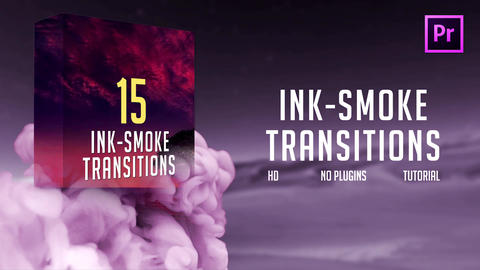 Ink-Smoke Transitions for Premiere Pro Premiere Pro Template