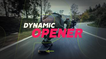 Dynamic Opener Premiere Proテンプレート