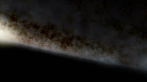 Flying Above and Below the Milky Way Animation