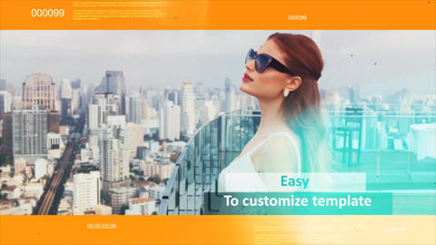 Corporate Clean Circle After Effects Template