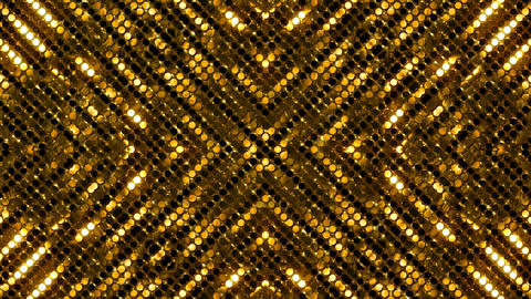 Glitter Back kaleida line Gold2 4k Animation