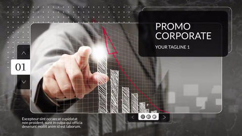 New Corporate Slideshow After Effects Template