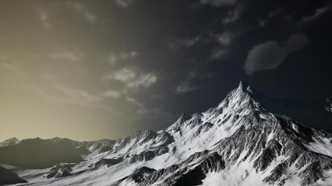 Storm Cloud over Dolomites Footage