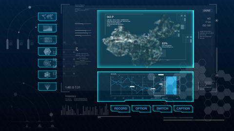 Hud infographics HiTech v8 - need FORM After Effects Template
