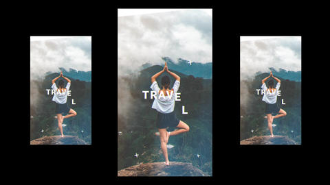 Vertical Travel Opener After Effects Template