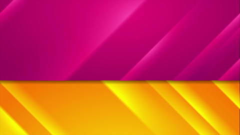 Contrast abstract glowing stripes video animation Animation