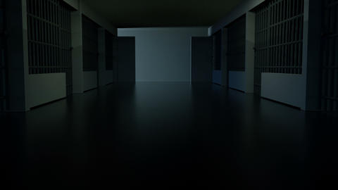 Hallway Flicker Animation