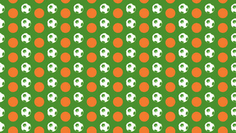 Football Pop Art 01 Animation