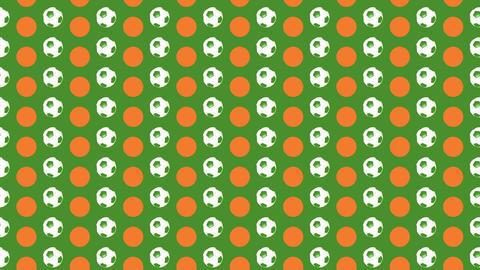 Football Pop Art 01 Animation