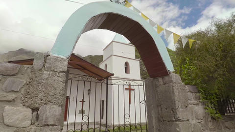 Old church in old town Footage