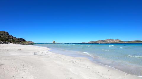 La Pelosa Beach In Sardinia 2